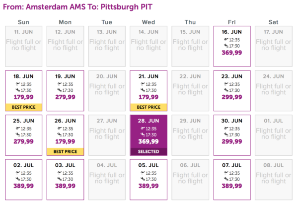 Wow Air Adds Pittsburgh