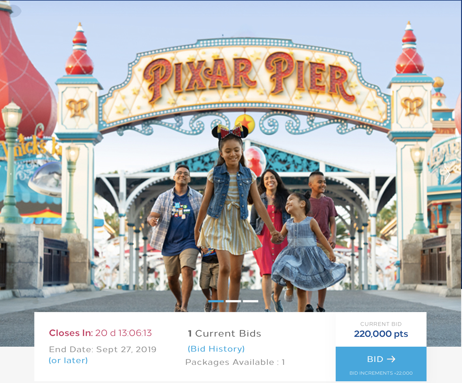 Cool! Redeem Hilton Honors Points For Disneyland VIP Vacation - Pizza In Motion